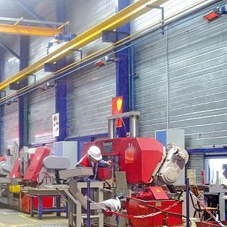 Промышленное отопление инфракрасными газовыми лучистыми обогревателями